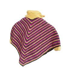 Obrázek z dětské pončo s šálou inčučuna